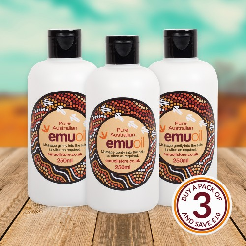 Pure Australian Emu Oil - 250ml