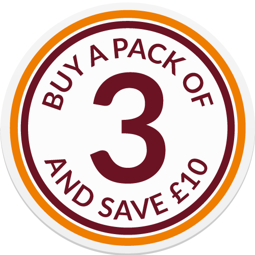 Pack Of 3 SAVE 10