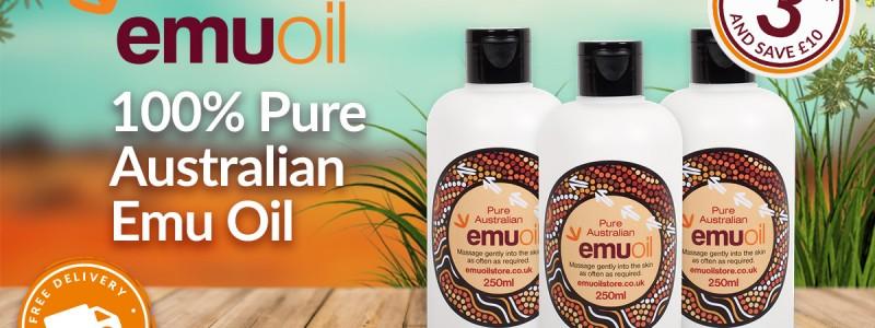 100% Pure Australian Emu Oil