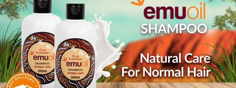 Australian Emu Oil Shampoo for Normal Hair