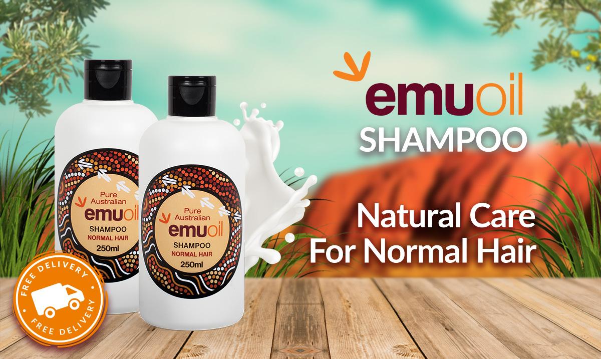 Australian Emu Oil Shampoo for Normal Hair