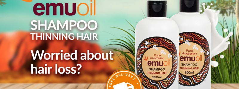 Emu Oil Shampoo for Thinning Hair